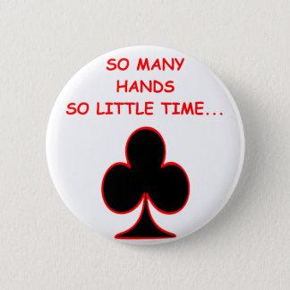 bridge 6 cm round badge