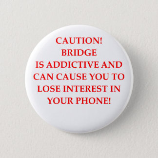BRIDGE 6 CM ROUND BADGE