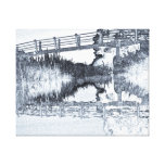 Bridge Across The River Gallery Wrapped Canvas
