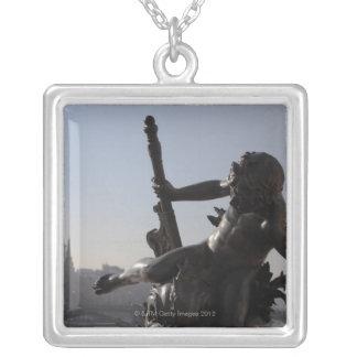 Bridge ALEXANDRE III/Paris Silver Plated Necklace