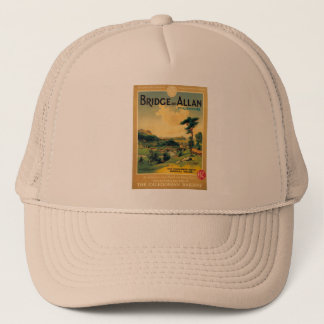 bridge allan railway poster trucker hat