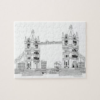 Bridge Amid Sea Jigsaw Puzzle