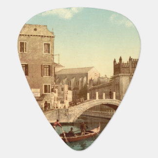 Bridge and Canal, Venice, Italy Plectrum