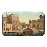 Bridge and Canal, Venice Tough iPhone 3 Cases