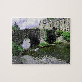 Bridge and stream puzzle