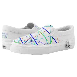 Bridge artist designed unisex sneakers