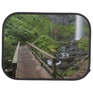 Bridge at Latourell Falls, Columbia River Gorge, Car Mat