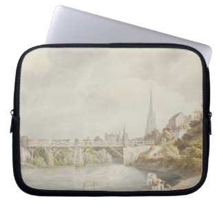 Bridge at Monmouth Laptop Sleeve