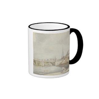 Bridge at Monmouth Ringer Coffee Mug