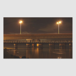 Bridge at Night Sticker