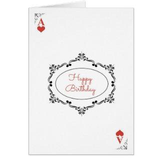 Bridge Birthday Card