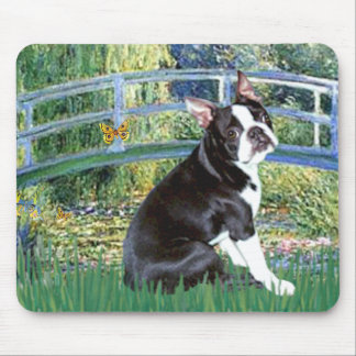 Bridge - Boston Terrier #4 Mouse Mat