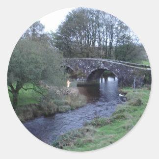 Bridge Classic Round Sticker