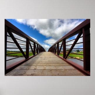 Bridge Convergence Print