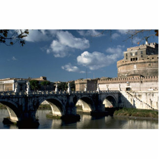Bridge crossing the Tiber to Castel Sant'Angelo, R Acrylic Cut Outs