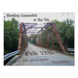 Bridge Flyer Poster