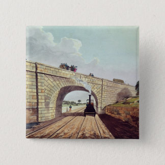 Bridge,from 'Liverpool and Manchester Railway' 15 Cm Square Badge