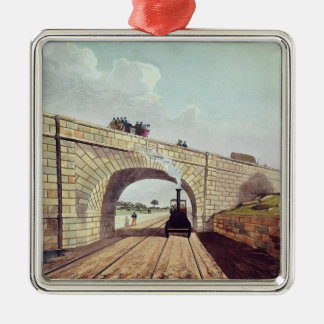 Bridge,from 'Liverpool and Manchester Railway' Christmas Ornament
