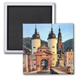 BRIDGE GATE, HEIDELBERG GERMANY MAGNET