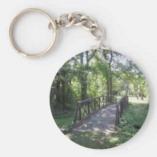 Bridge in a Park Key Ring
