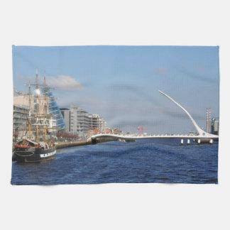 Bridge in Dublin Kitchen Towel