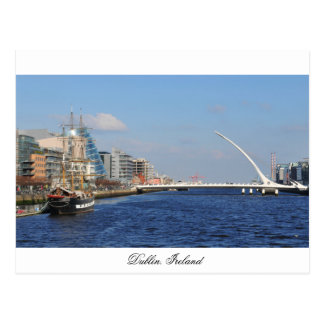 Bridge in Dublin Postcard