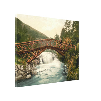 Bridge in Glenariff Co Antrim Northern Ireland Stretched Canvas Prints