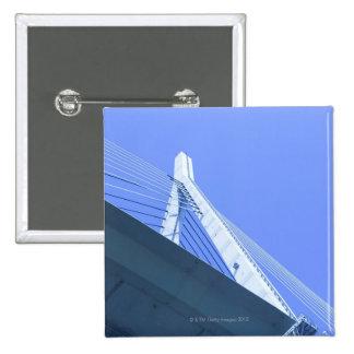Bridge in Japan 15 Cm Square Badge