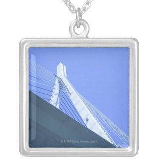 Bridge in Japan Silver Plated Necklace