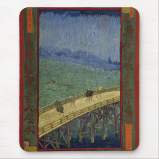 Bridge in the Rain Mousepad