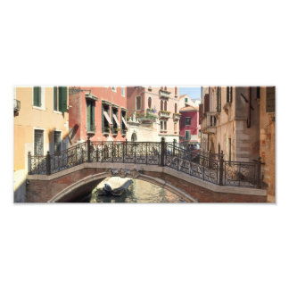 Bridge in Venice Italy Photo Print