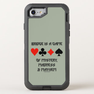 Bridge Is A Game Of Mystery Madness And Mayhem OtterBox Defender iPhone 8/7 Case
