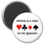 Bridge Is A Test Of My Memory (Four Card Suits)