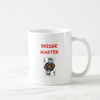 bridge joke coffee mug