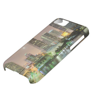 Bridge leads across waterway to downtown Miami iPhone 5C Case