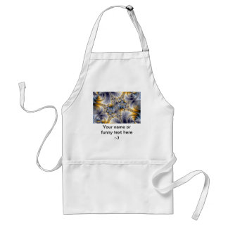 Bridge Network - Mandelbrot Fractal Art Adult Apron