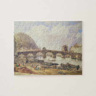 Bridge of Arches, Liege Jigsaw Puzzle