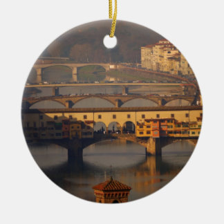 Bridge of Florence, Italy Christmas Ornament