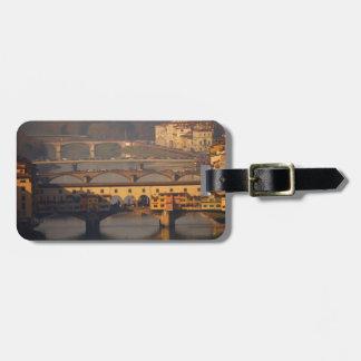 Bridge of Florence, Italy Luggage Tag