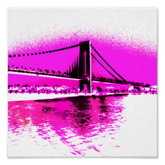 Bridge of Pink Dreams print