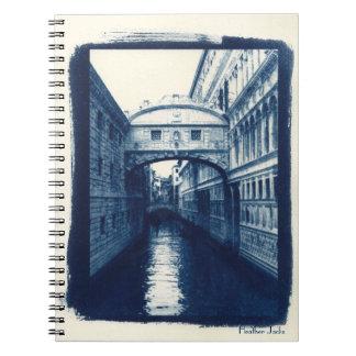 Bridge of Sighs Notebook