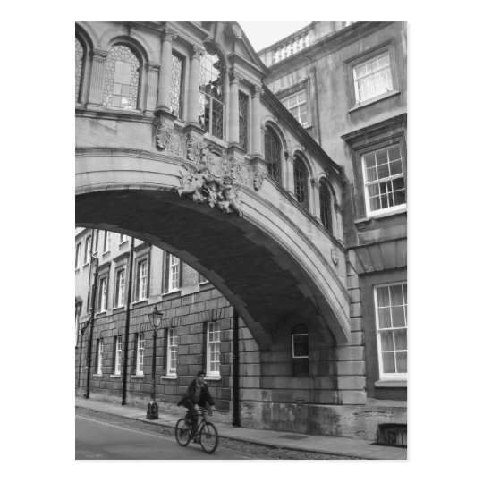 Bridge of Sighs, Oxford Postcard