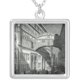 Bridge of Sighs, Venice Silver Plated Necklace