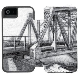 Bridge old incipio watson™ iPhone 5 wallet case