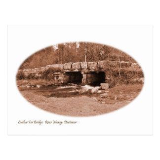 Bridge on Dartmoor Postcard