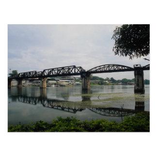 Bridge on the River Kwai, Kanchanaburi, Thailand Postcard
