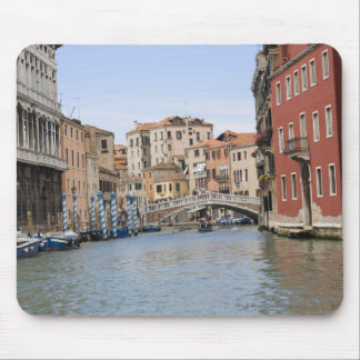 Bridge over a canal, Grand Canal, Venice, Italy Mouse Mat