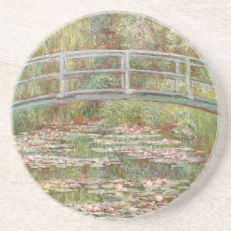 Bridge Over a Pond of Water Lilies by Monet Coaster
