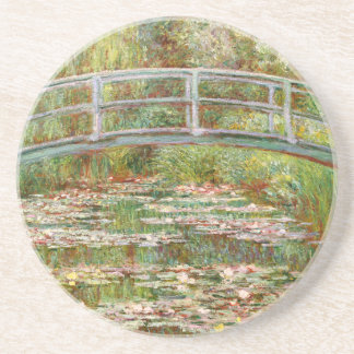 Bridge over a Pond of Water Lilies, Claude Monet Coasters