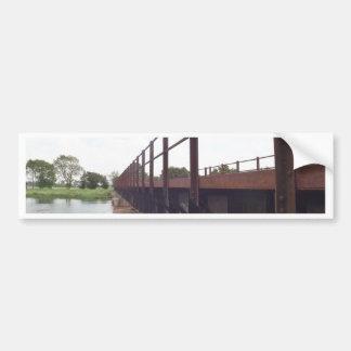 Bridge over bumper sticker